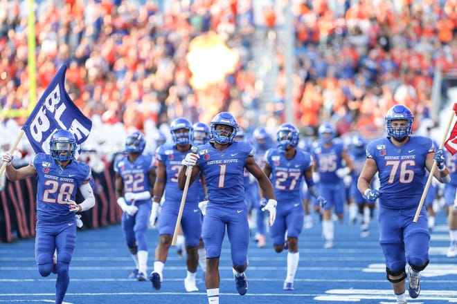 25. Boise State (2-0)   Last game: Defeated Marshall, 14-7   Previous ranking: 23.