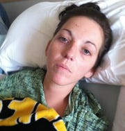This photo of Kaylee Hardenbrook of Paw Paw was taken in 2014, when she was hospitalized with Eastern equine encephalitis.