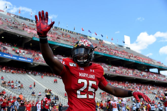 22. Maryland (2-0) | Last game: Defeated Syracuse, 63-20 | Previous ranking: NR.