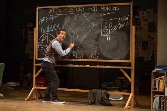 "John Leguizamo in ""Latin History For Morons"""