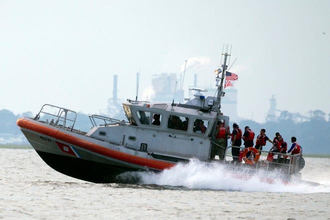 A United States Coast Guard vessel.