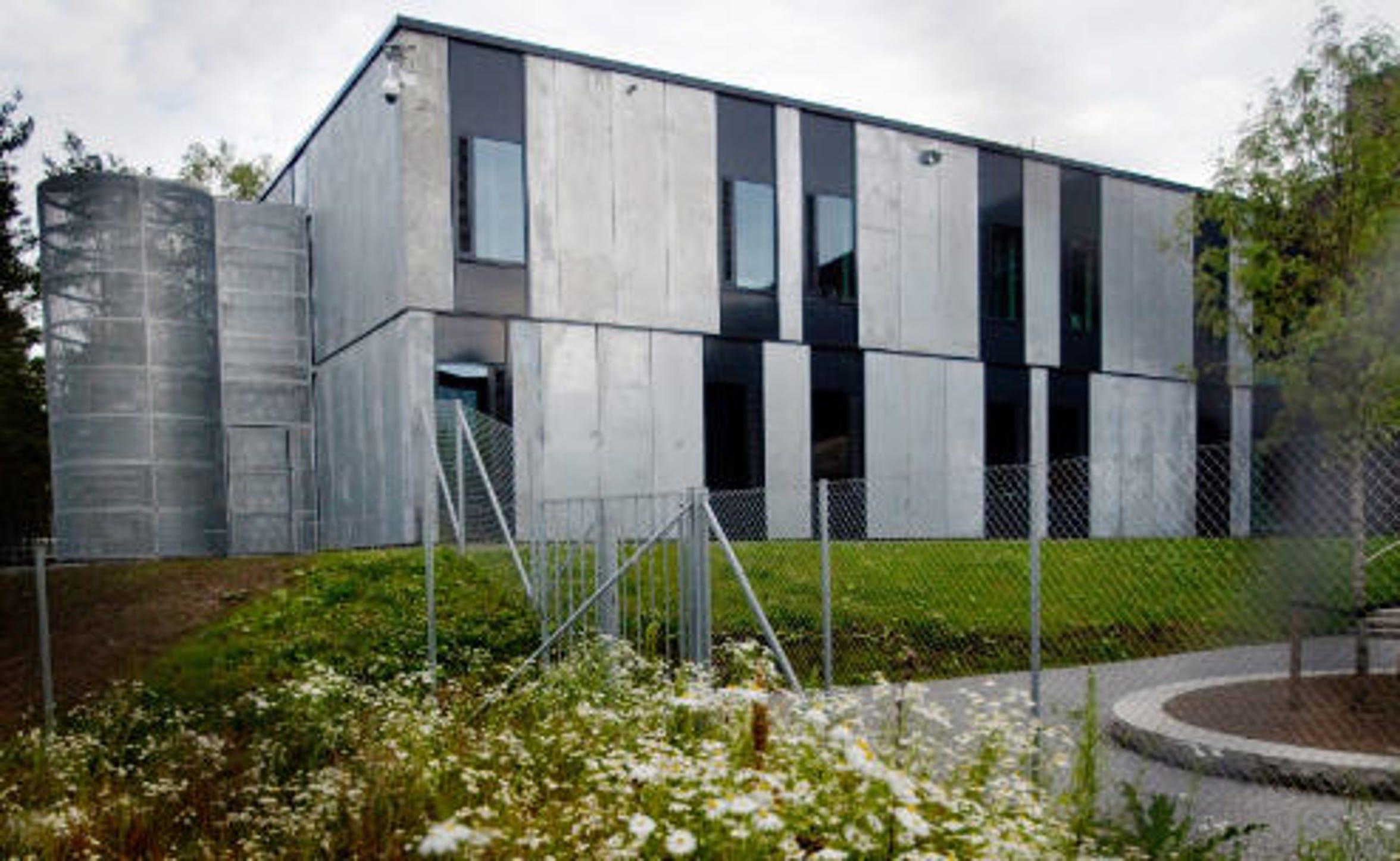 The exterior of Halden Prison.