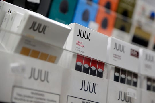 A state judge has issued an injunction on the governor's ban on e-cigarette flavors.