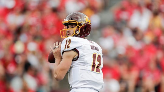 Central Michigan QB Quinten Dormady