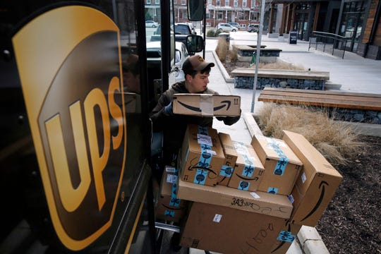 UPS said Monday, Sept. 9, 2019, that it expects to hire about 100,000 seasonal workers and pay them more to handle the avalanche of packages shipped between Thanksgiving and Christmas.