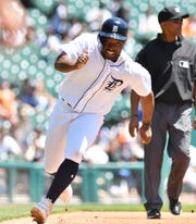 Tigers outfielder Christin Stewart, 25, is hitting just .239 this season.