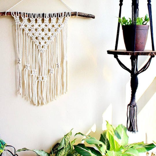 Tangled Creative will lead a macrame workshop at the Textile Takeover Saturday and Sunday at Post Detroit.