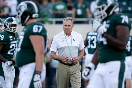 Mark Dantonio is one win away from becoming the winningest football coach in Michigan State history.