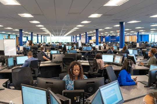 Ford Motor Co. opened a 500-person cal center in Houston, Texas devoted to answering calls from truck customers
