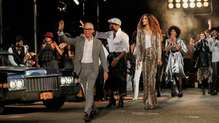 Tommy Hilfiger joins with Zendaya for joyous '70s Harlem party