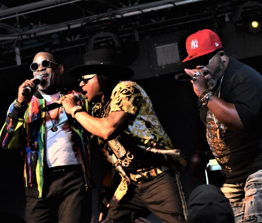 Rap legends Sugarhill Gang and the Furious Five will perform Saturday at The Hub.