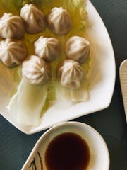 The soup dumplings at Asia Pacific Supermarket offer an example of traditional dim sum.