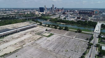 A roughly 90-acre Indianapolis site once held a General Motors plant. It closed in 2011, setting off a series of redevelopment proposals that fell through.