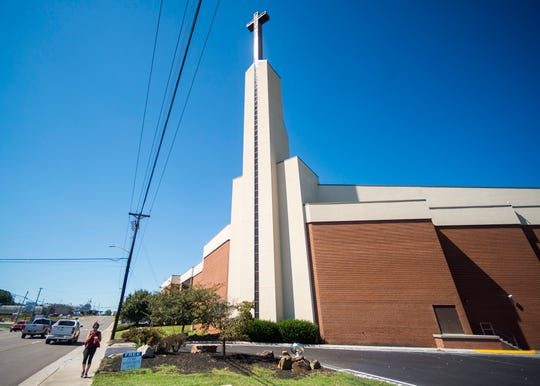Wallace Memorial Baptist on Merchants Drive in Knoxville on Friday, Sept. 6, 2019.