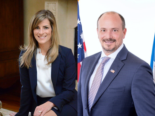 Current council member Liz Hebert and James Noriega are running to represent District 3 on the new city council in this fall's election.
