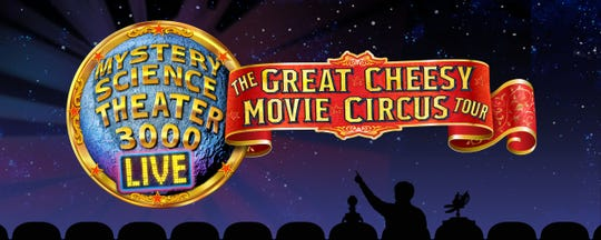 CAPA presents Mystery Science Theater 3000 Live: The Great Cheesy Movie Circus Tour at the Davidson Theatre (77 S. High St.) at 7 p.m.Sunday, Oct.6.
