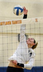 Brighton's Celia Cullen had 43 kills, 12 aces and 29 assists in the Mt. Morris Invitational.