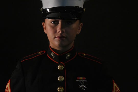 Madison Jarvis graduated with honors from U.S. Marine Corps boot camp late last month in Parris Island, South Carolina.