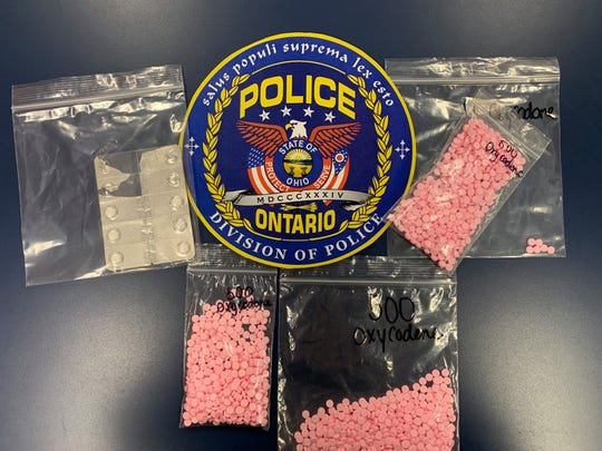 Ontario police say they have seized 1,500 Oxycodone pills that are reportedly worth over $22,500.