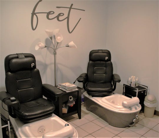 Rejuvenations is a full-service salon and spa. It provides massage treatments, hair services, nail treatments, and skin care.