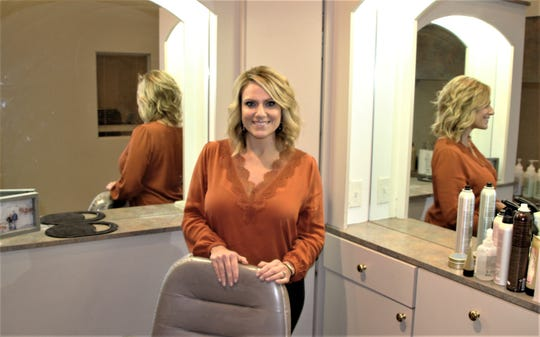 Becky Williams is the owner of Rejuvenations Salon and Spa located at 1199 Delaware Avenue in Marion. She said she's been concerned all week that the state-ordered shutdown was coming. Andrew Carter/Marion Star