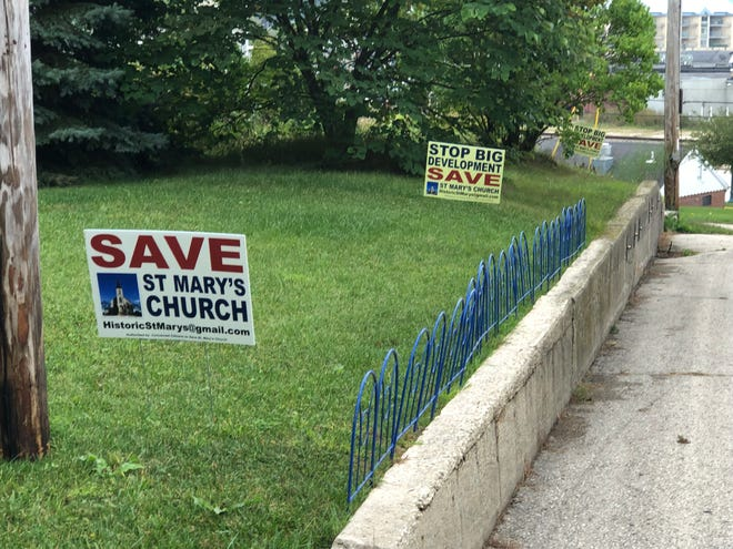 A reported 24 signs in the village of Pewaukee have either been stolen or damaged, according to a police report.