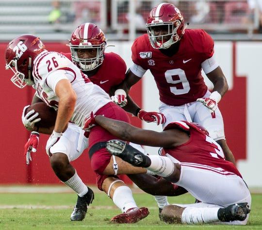 Freshman DB Jordan Battle proving he belongs among Alabama's