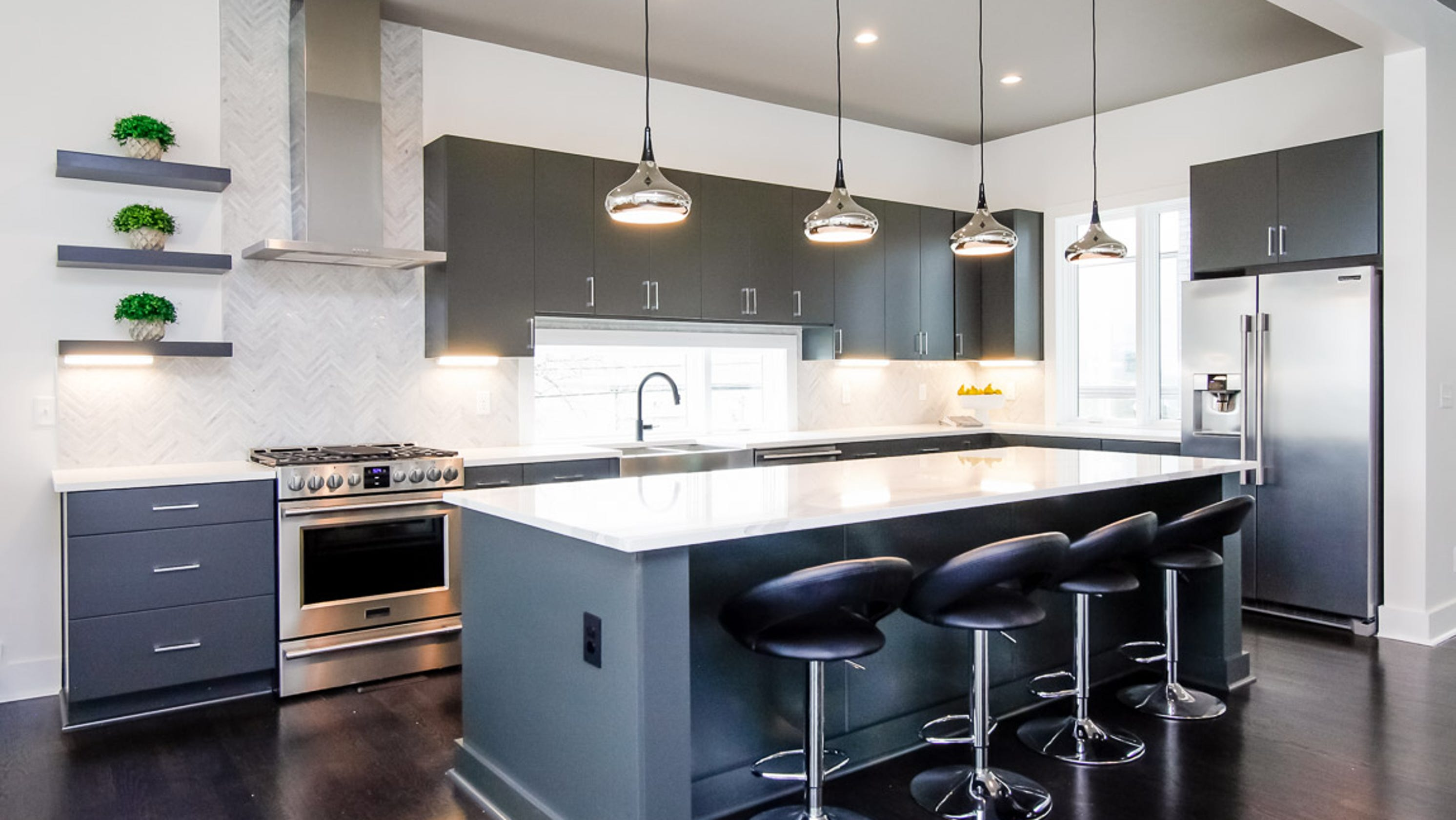 Trends: Make a statement in the kitchen with custom cabinets