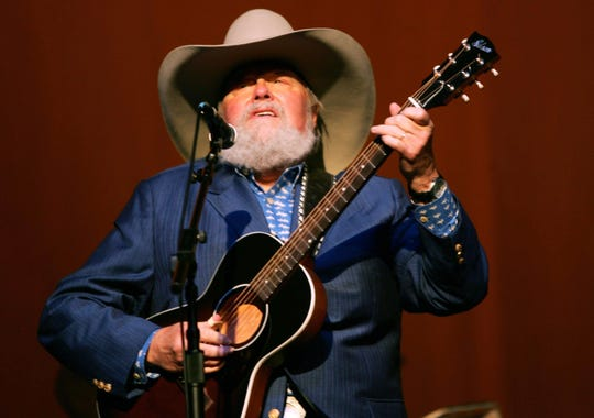 Charlie Daniels performs after receiving the First Amendment Center/Americana Music Association's Spirit of Americana Free Speech honor during the fifth annual Americana Honors & Awards show at the Ryman Auditorium Sept. 22, 2006.