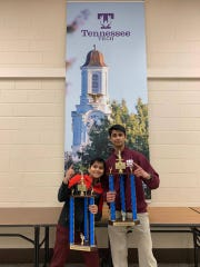 Brothers Dhruv and Ronit Chandra are 2019 state chess champions.
