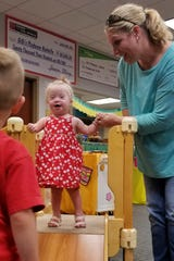 For littles, there are open play sessions at GiGi's Playhouse Nashville.