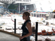 Photo shoot for (201) Magazine inside American Dream under construction in August 2019