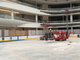 The Ice Rink under construction at American Dream in August 2019