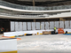 The Ice Rink at American Dream under construction in early August 2019