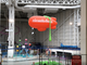 Nickelodeon Universe Theme Park under construction inside American Dream in August 2019