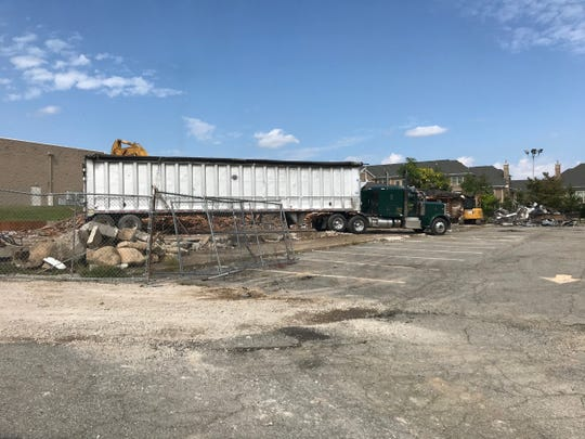 Clearing has begun on a proposed Wawa store and service station on the site of the Cury's  Sporting Goods store on Route 17 North in Ramsey.  Permits are still incomplete to begin construction.
