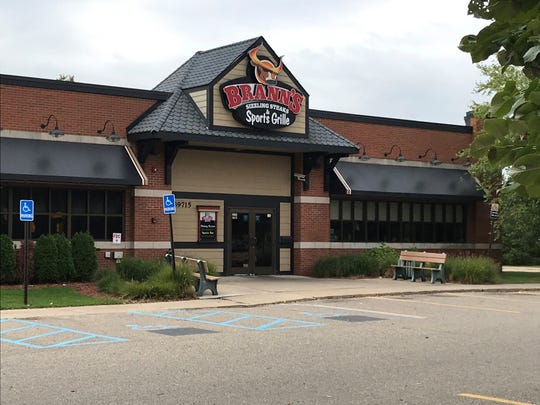 Brann's Steakhouse in Northville Township has closed.