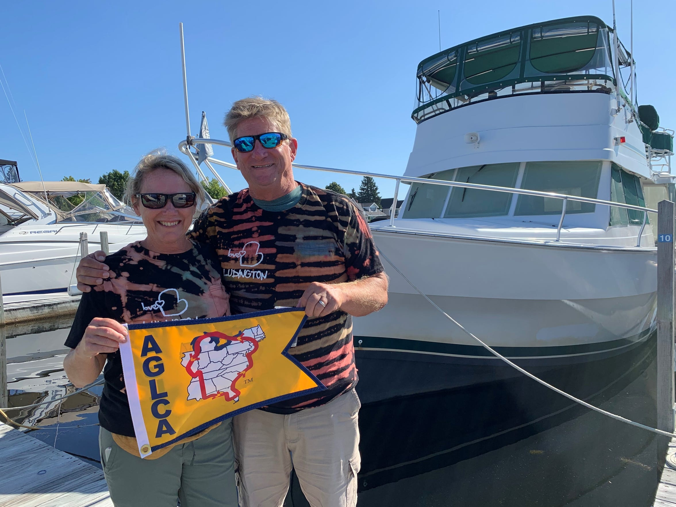 Rose and Dave Baker of Milford are members of the America's Great Loop Cruisers' Association and have completed their nearly 1 year, 5,600 mile journey.