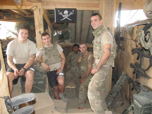 Veteran with PTSD says Iraq, Afghanistan wars left him