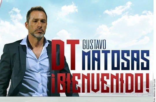 Gustavo Matosas, nuevo D.T. del San Luis.
