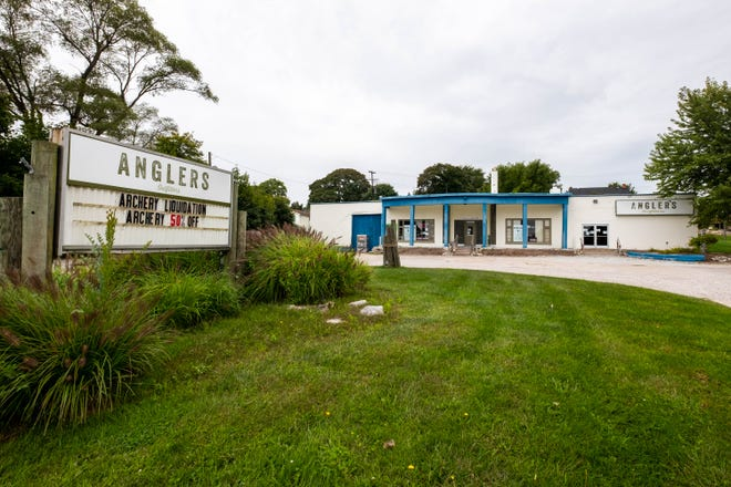 Anglers Outfitters in St. Clair is for sale. The building was built in 1947 and used for bottling until 1968.