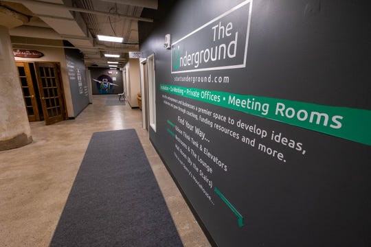 The Underground, a business incubator located under Sperry's Moviehouse, has gotten a new entrepreneur in residence.