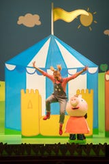 """""""Peppa Pig Live! Peppa Pig's Adventure"""" will be performed Sept. 13 at UPAC in Kingston."""
