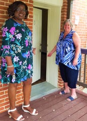 Yolanda McCanic, program coordinator of Bell's CHIPP Supported Living Program, left, and Kris Stroup, director of Bell's mental health services department, will welcome guests at the open house on Tuesday, Sept. 17.
