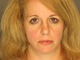 Cheryl Walsh, arrested for DUI and roadways laned for traffic.