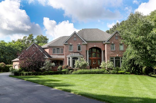 The 6,000 square-feet brick house in Perinton is on the market for $964,900.