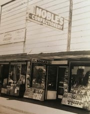 Noble's Tavern started as a confectionery in 1939, with beer sold in the back of the shop. The tavern is named after the original owner, Noble Dependehner.