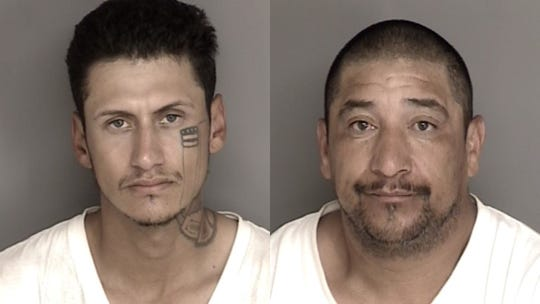 Jimmy Alexander Moreno, 25, and Evaristo Cabrera, 44.