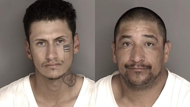 Jimmy Alexander Moreno, 25, and Evaristo Cabrera, 44.