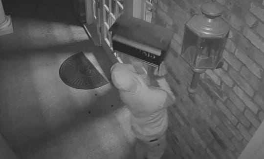 The Bossier Sheriff's Office is asking for help in identifying this suspect, who is accused of taking a mailbox from a Bossier business on Sept. 2, 2019.
